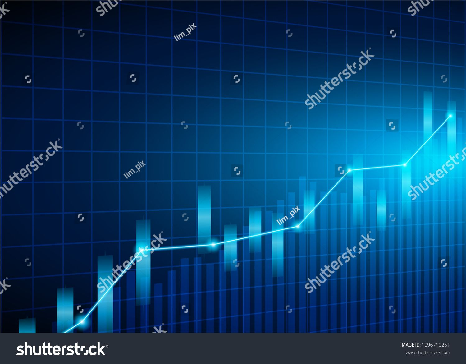 Stock Market Candle Stick Graph Chart Of Stock Market Investment Trading Stock Market Data Bullish P Stock Market Data Stock Market Investing Marketing Data