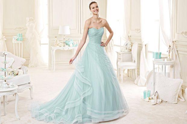 Vestiti Da Sposa Tiffany.Abito Da Sposa Color Tiffany Cerca Con Google Abiti Da Sposa