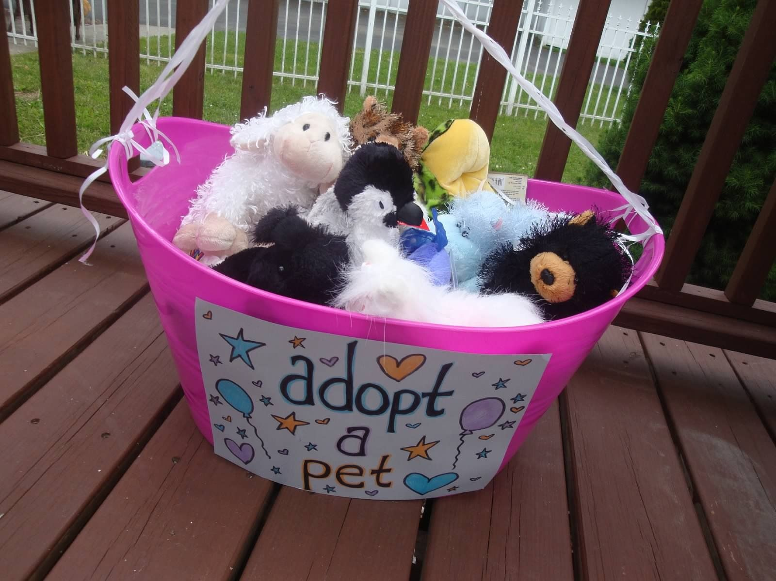Adopt A Pet Stuffed Animal Birthday Party Favors For The Little Kids Found Webkins On Amazon For Pret Animal Birthday Party Animal Birthday Barnyard Birthday [ 1199 x 1600 Pixel ]