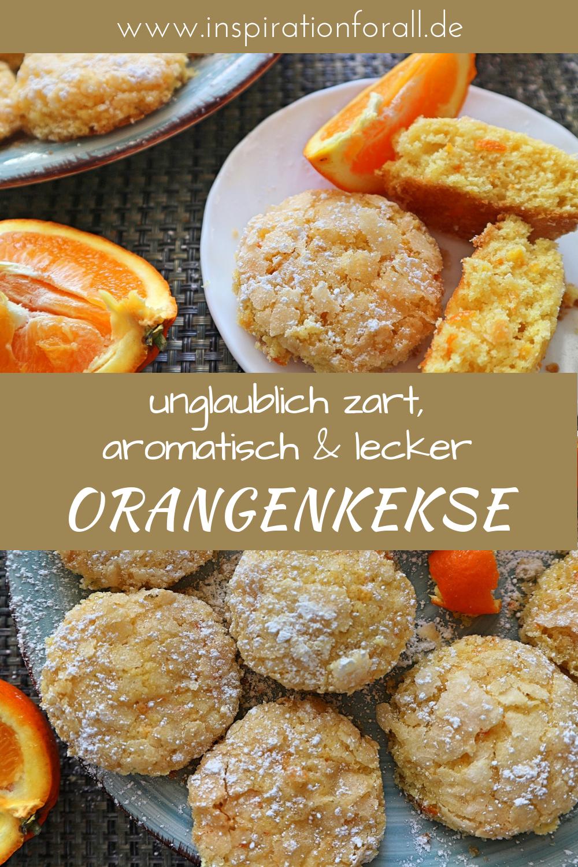 Orangenkekse sehr zart & aromatisch – einfaches Rezept #plätzchenrezept