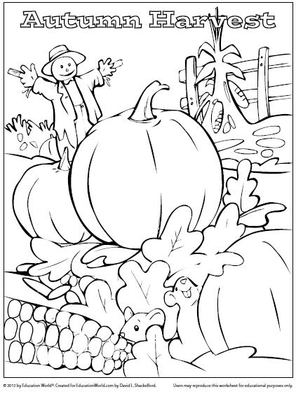 harvestpng 422563 - Harvest Coloring Pictures