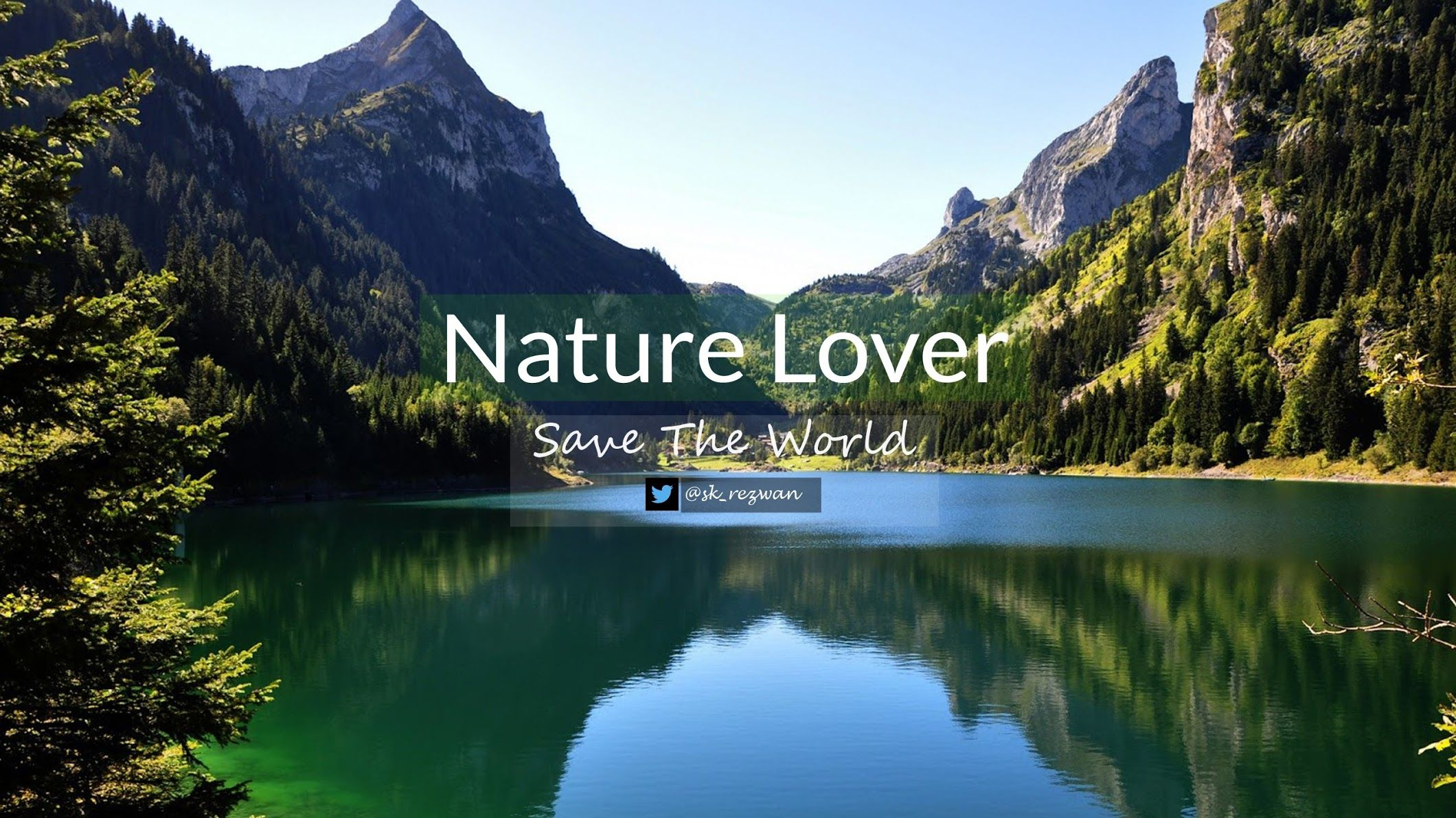 Nature Lover Youtube Mountain Wallpaper Scenery Nature