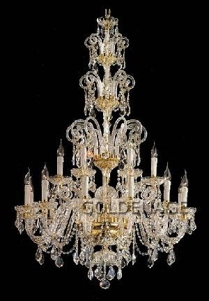 Large chandelier gold plated bohemian crystal chandelier czech large chandelier gold plated bohemian crystal chandelier aloadofball Images