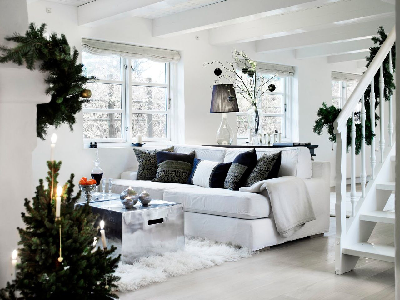 73 Beautiful Examples Of Scandinavian-Style Christmas Decorations ...
