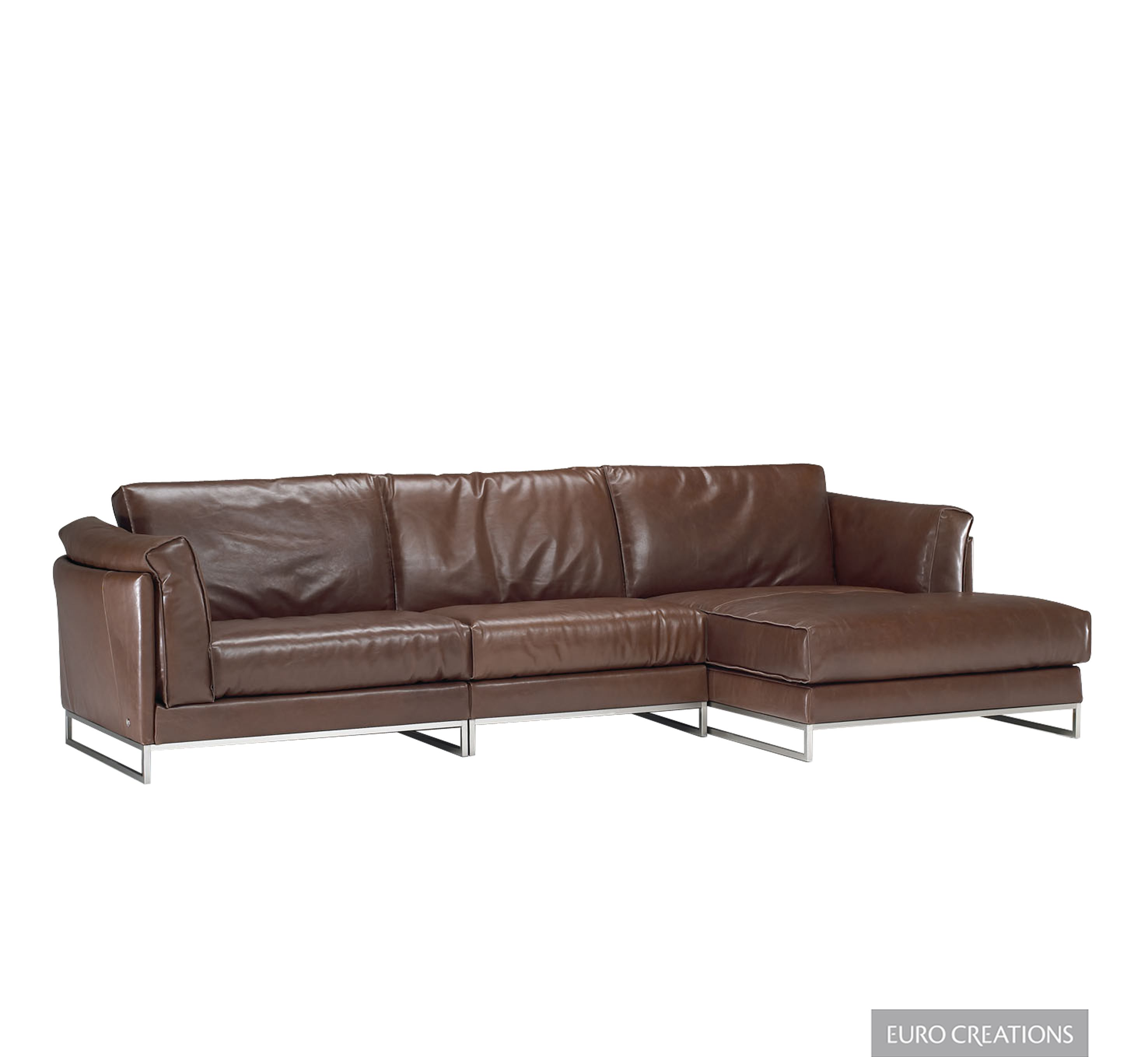 Italsofa Sectional 40% f msrp Discontinued leather color