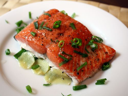 Fresh Salmon: Full of essential fats, vitamins and minerals (easy on the sauces, tastes great simply grilled with some fresh squeezed lemon).