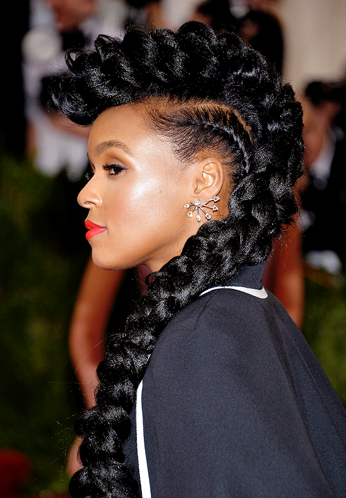 Janelle Her Best The Best Beauty At The 2015 Met Ball Hair Styles Natural Hair Styles Hair