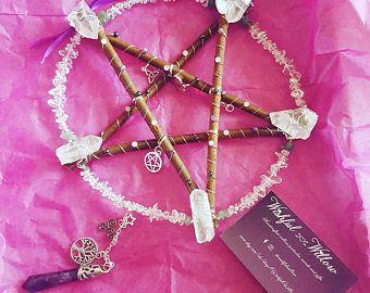 Image result for twig sticks pentagrams