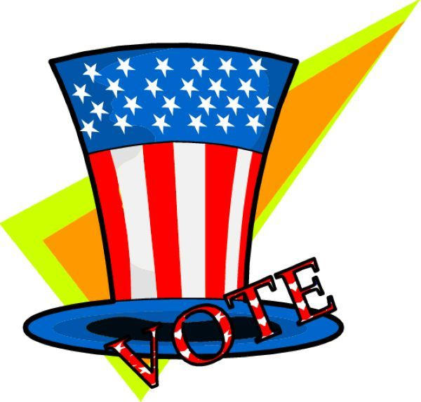 free voting election clipart free clip art images election clip rh pinterest com election day 2017 clipart happy election day clipart