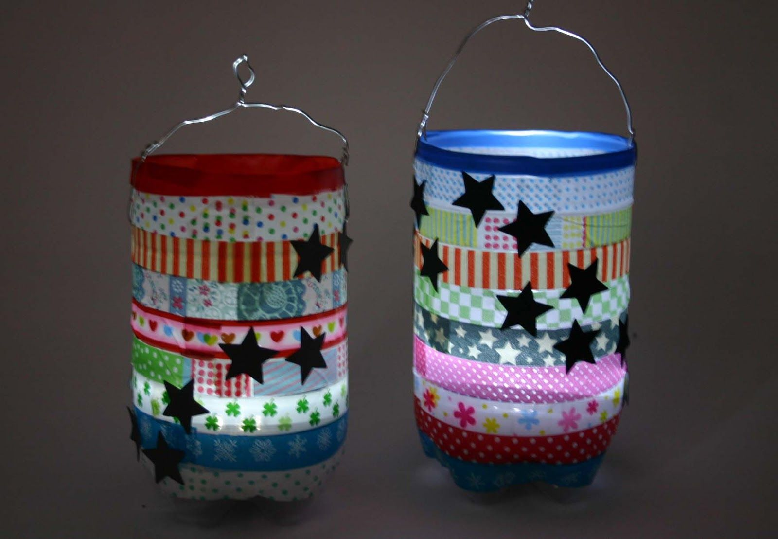 pittifours last minute laterne anleitung lantern craft lanterns diy for kids