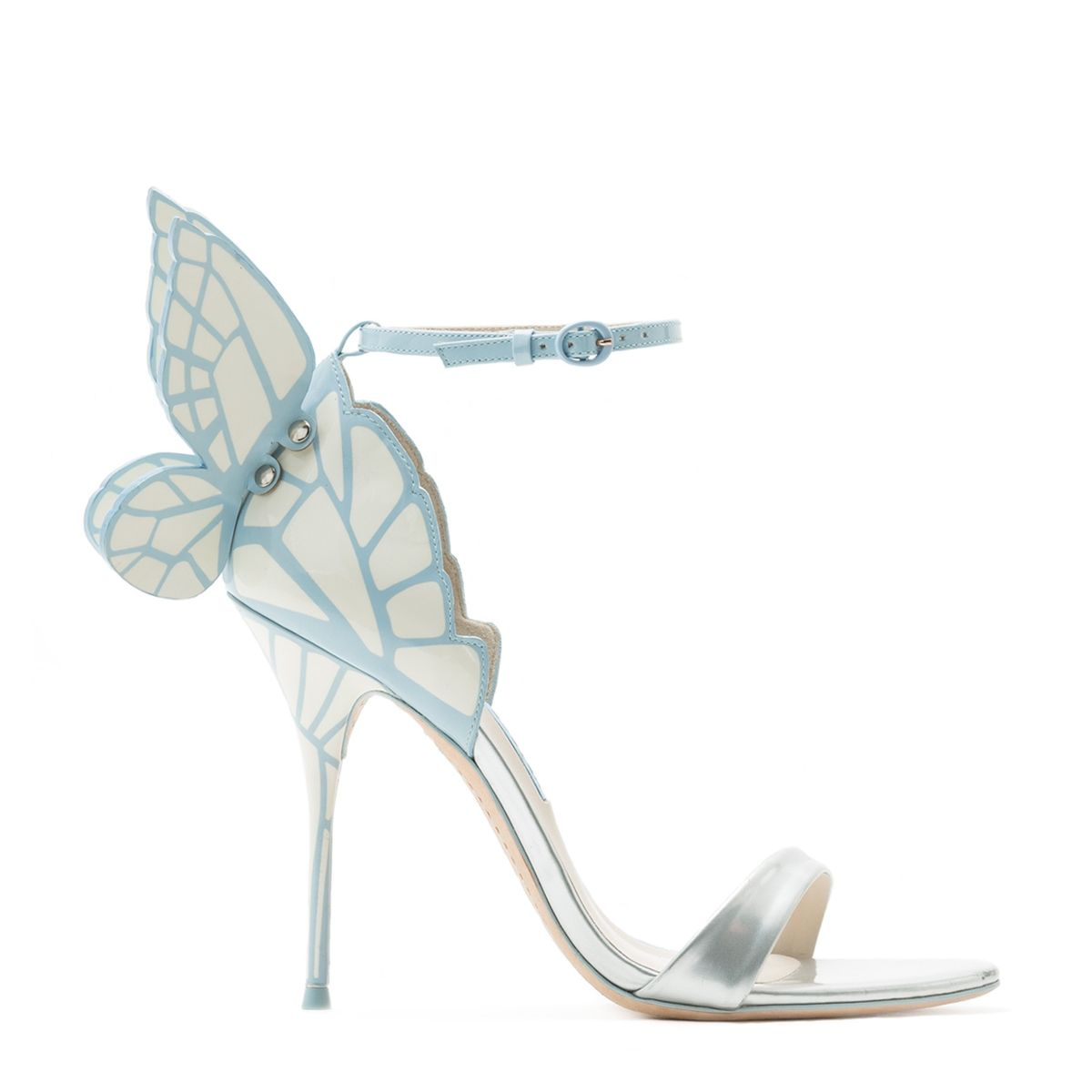 Chiara Ice bridal sandals - Metallic Sophia Webster qTLFN76w4C