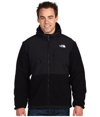 897e62c47 The North Face Denali Hooded Jacket Men Black | Gear | The north ...