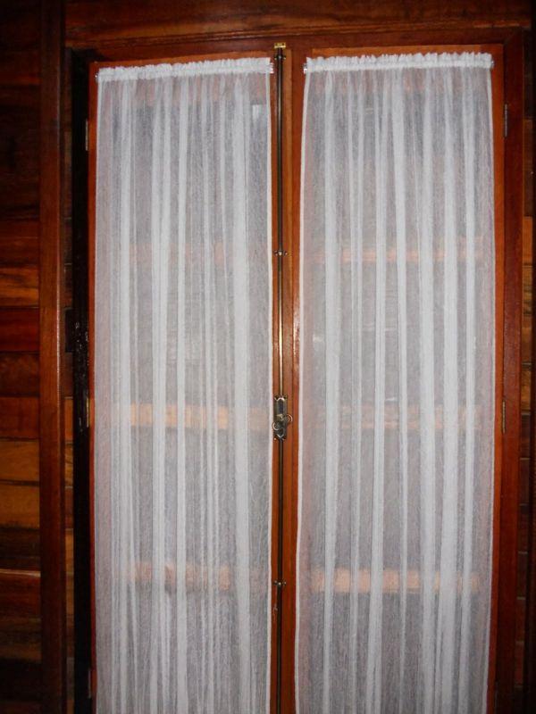 Gardinen Für Die Balkontür Weiß Durchsichtig Luftig