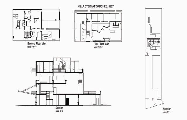 Great Buildings Drawing - Villa Stein Dizajn 2 Pinterest