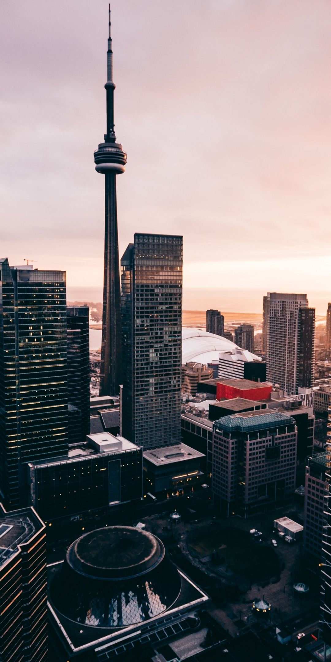 Cn Tower Toronto Buildings 1080x2160 Wallpaper Wallpaper Toronto Canada Photography Wallpaper Canada