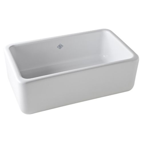 RRC3018WH Shaws Apron Front / Specialty Sink Kitchen Sink - White ...