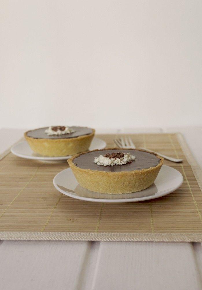 Tartaletas con ganache de chocolate y cerveza stout 1