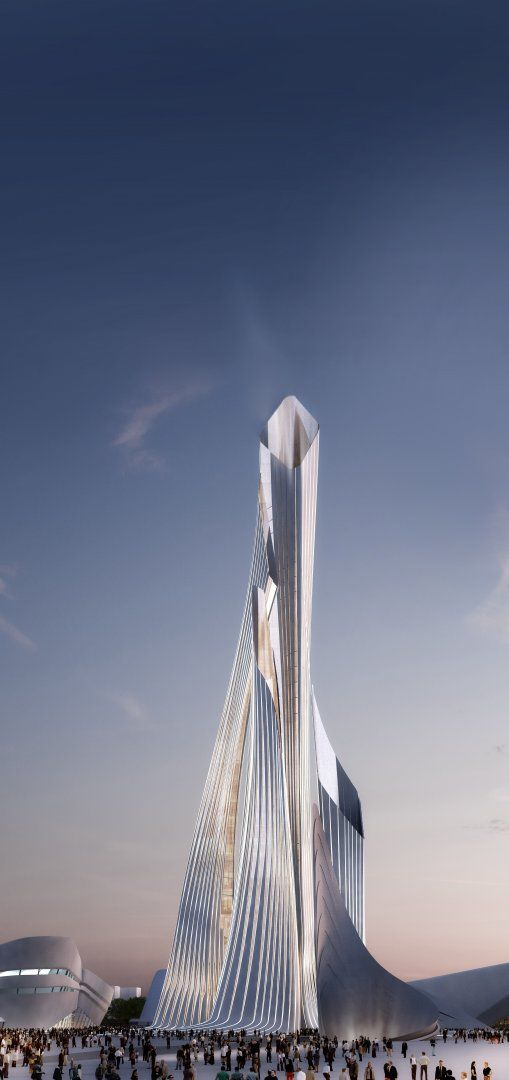 Astana Expo 2017 Tower, Astana, Kazakhstan by Zaha Hadid Architects   #Rascacielos #Edificios #Skyscrapers #Buildings