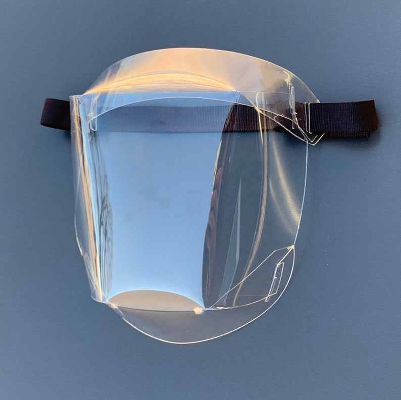 Face Shield T1 Etsy in 2020 Face shield masks, Easy