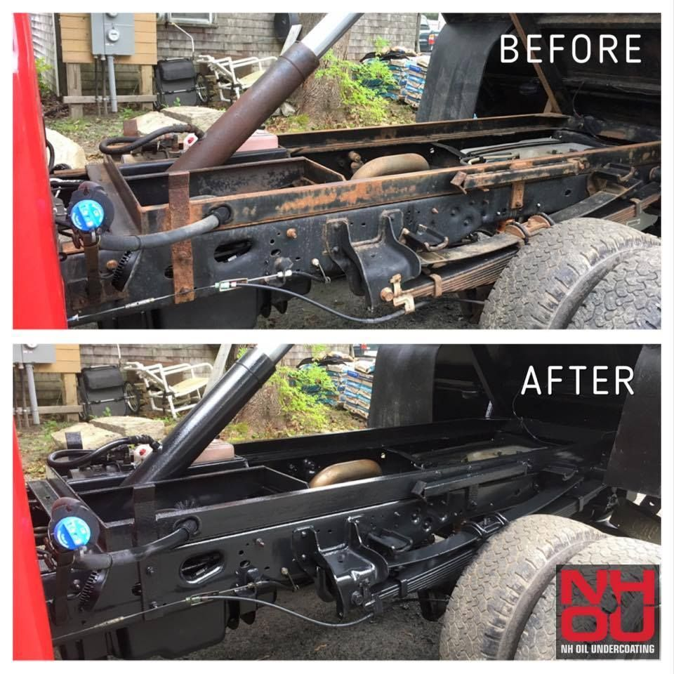 Nh Oil Vehicle Undercoating Services Products Undercoating For Cars Trucks Will Perform Because We Use The Products Trucks Cars Trucks Triumph Cafe Racer