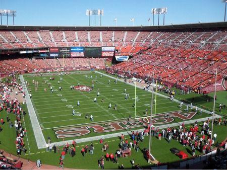 Candlestick Park 49ers Http Www Stadiumsofprofootball Com Nfc Candlestickpark Htm Candlestick Park Nfl Stadiums San Francisco 49ers
