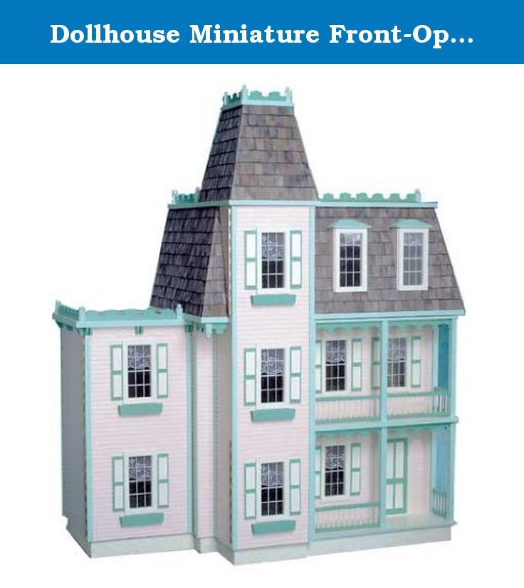 ... Model Boasts An Unusual Front Opening Design. Its Gingerbread Trim,  Expertly Molded Railings And Porch Posts, Detailed Spires And Beautiful  Balcony C