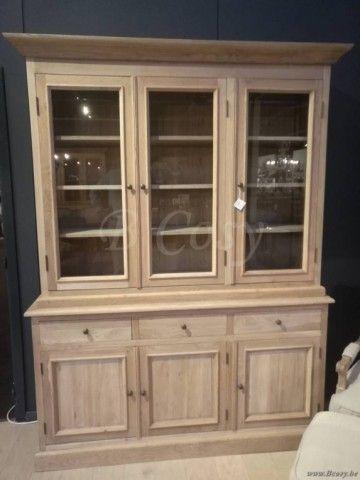 Vaisselier Interiors pr interiors whistler vitrinekast 155 weathered oak-eik<span style