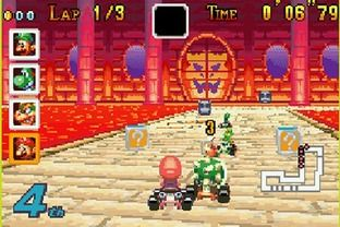 Mario Kart Super Circuit Sur Gameboy Advance Mario Kart