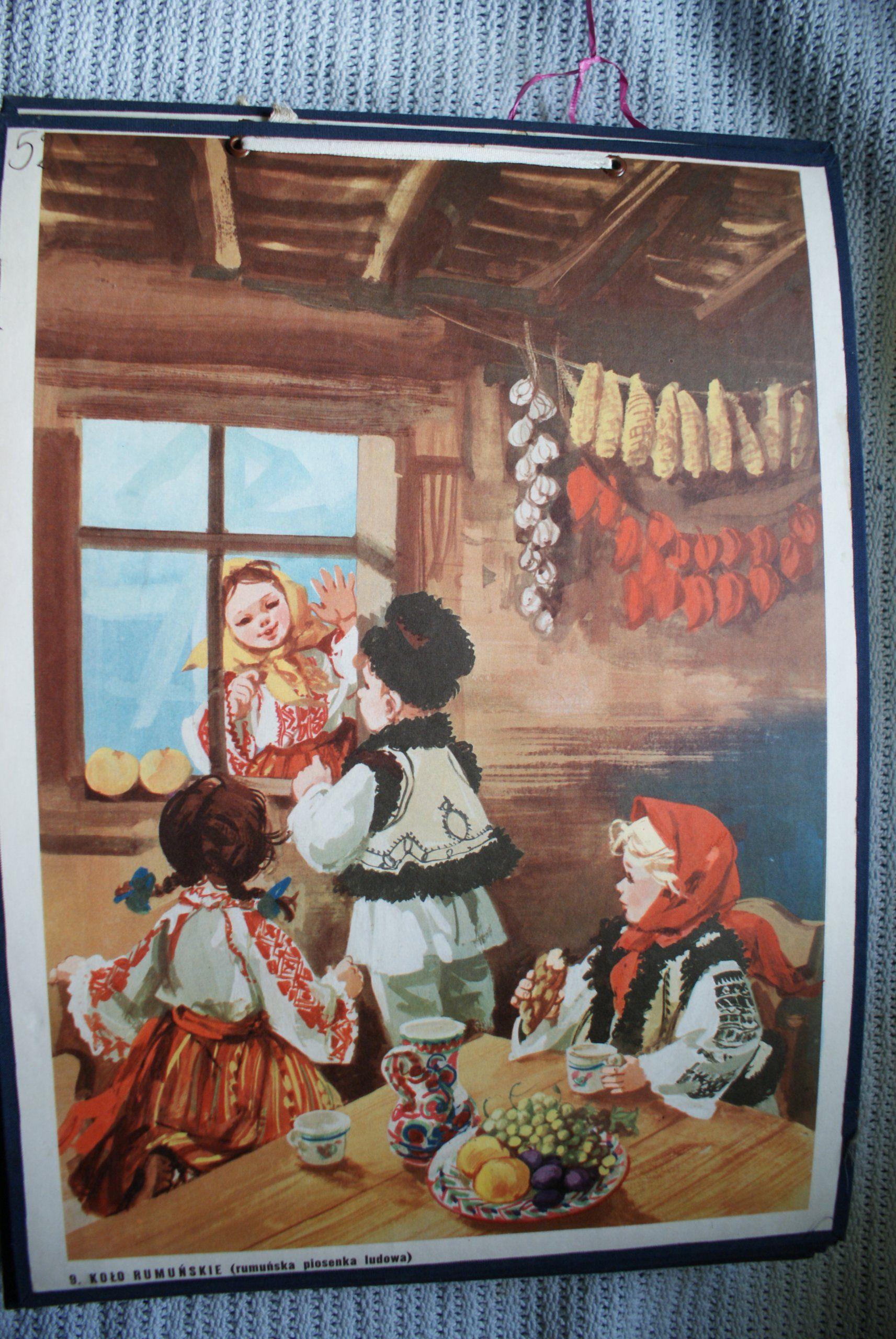 Stare Tablice Dydaktyczne Plansze Prl 6695480761 Oficjalne Archiwum Allegro Painting Art