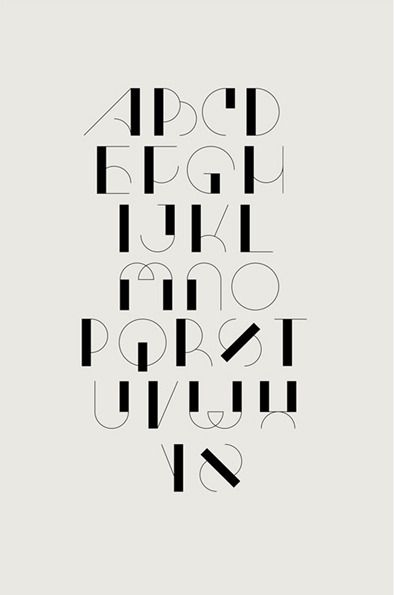 Projet_alphabeteunam01 | JUST MY TYPE | Typography alphabet