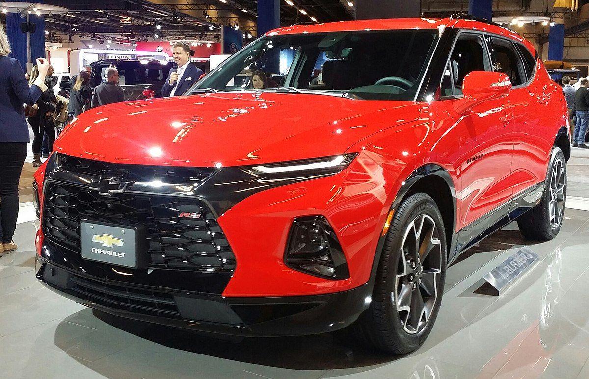 Chevrolet Blazer Crossover Wikipedia Di 2020