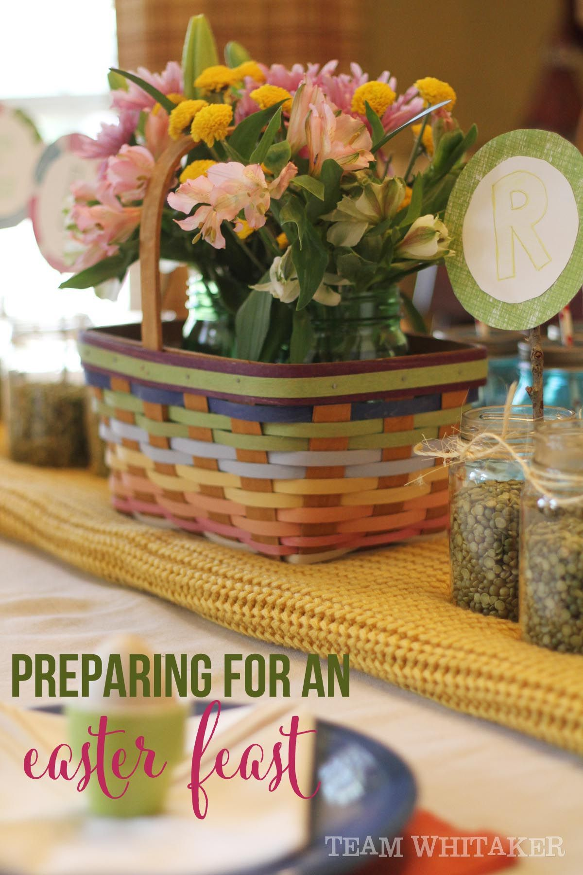 It's time to prepare your heart (and your home!) for an Easter feast. This simple DIY craft for kids is sure to keep little hands busy while you finish the Easter dinner preparations. And, it's a reminder that your dinner table's beauty can be found in the details. It's where love resides!