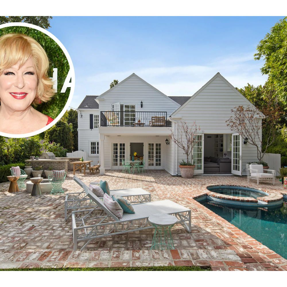 Bette Midler and George Lucas Once Called This California Charmer Home—And Now You Can, Too #hollywoodlegends The Nantucket-style cottage with ties to two Hollywood legends is on the market for $4.48 million. #hollywoodlegends