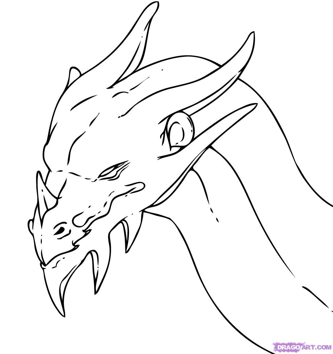 Dragons Drawings That Are Easy