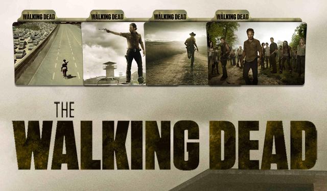 The Walking Dead Folder Icon By Ibibikov73deviantartcom On