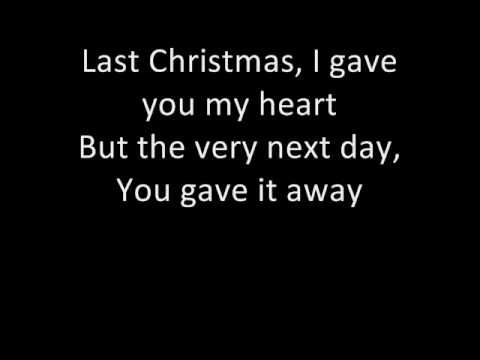 Wham Last Christmas With Lyrics D Love Is Always A Sacred Blessed Gift And No Materia Favorite Christmas Songs Last Christmas Lyrics Best Christmas Songs