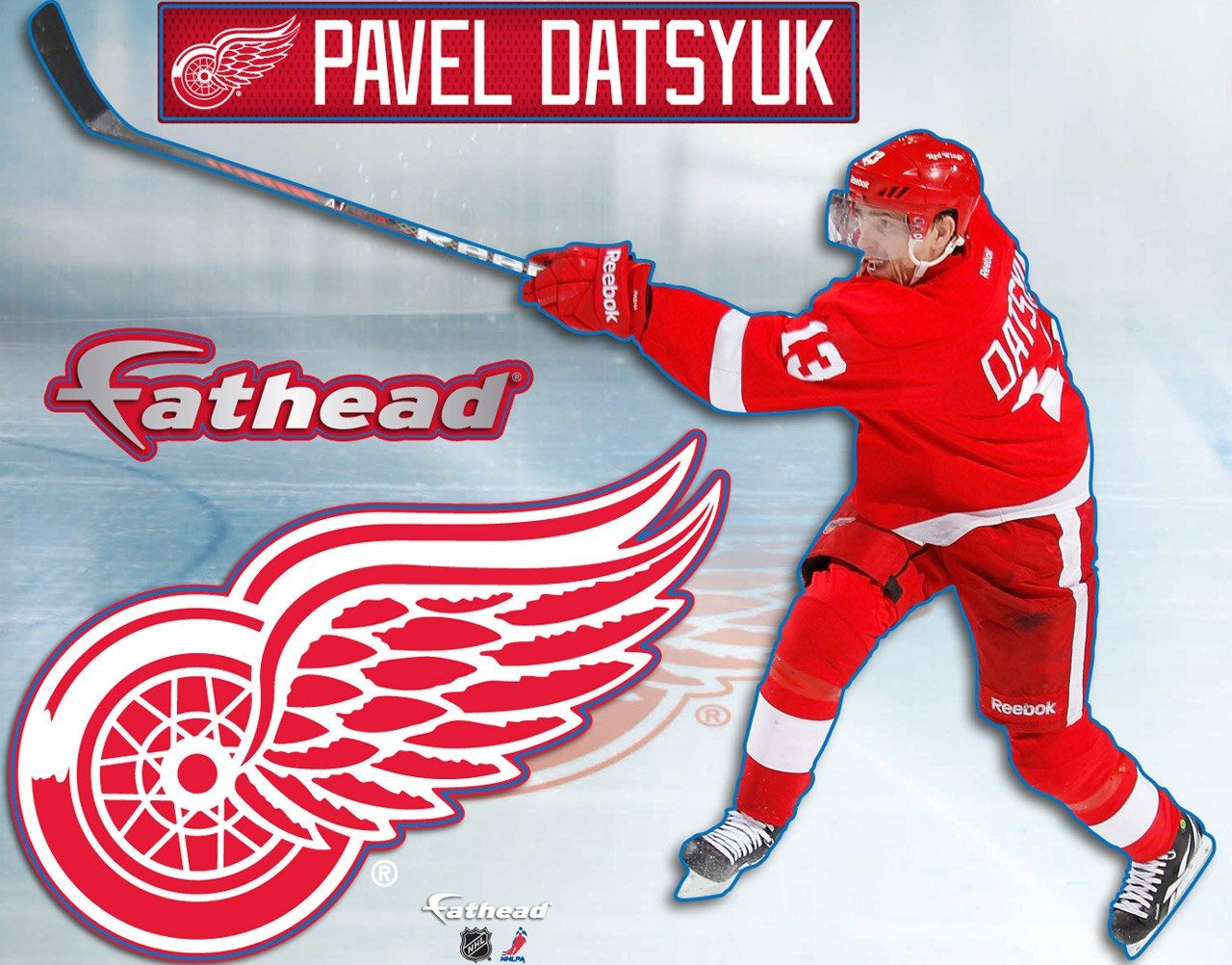 Woohoo! Tonight's Fathead giveaway! Detroit red wings