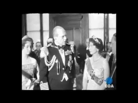 Επίσημη επίσκεψη βασιλέων Παύλου & Φρειδερίκης στη Γαλλία. Ιούνιος 1956 - YouTube