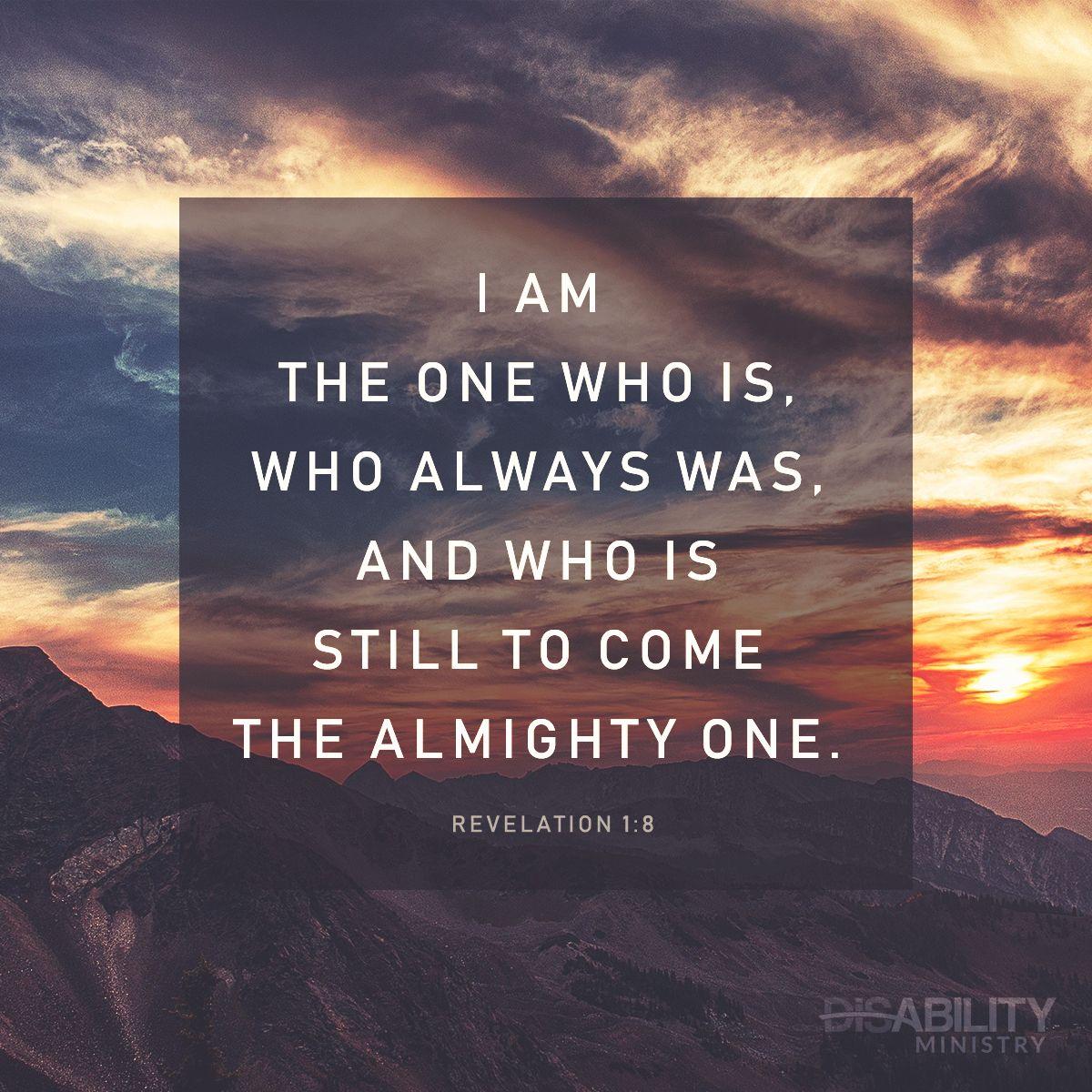 Revelation 1 8 Revelation 1 Revelation I Am The One