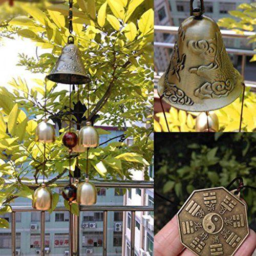 Carrillón De Viento Con Campanas De Metal 2 Feng Shui Puedes Conseguirlo En Http Adivinacion Esoterik A Feng Shui Feng Shui Decoracion Campanas De Viento