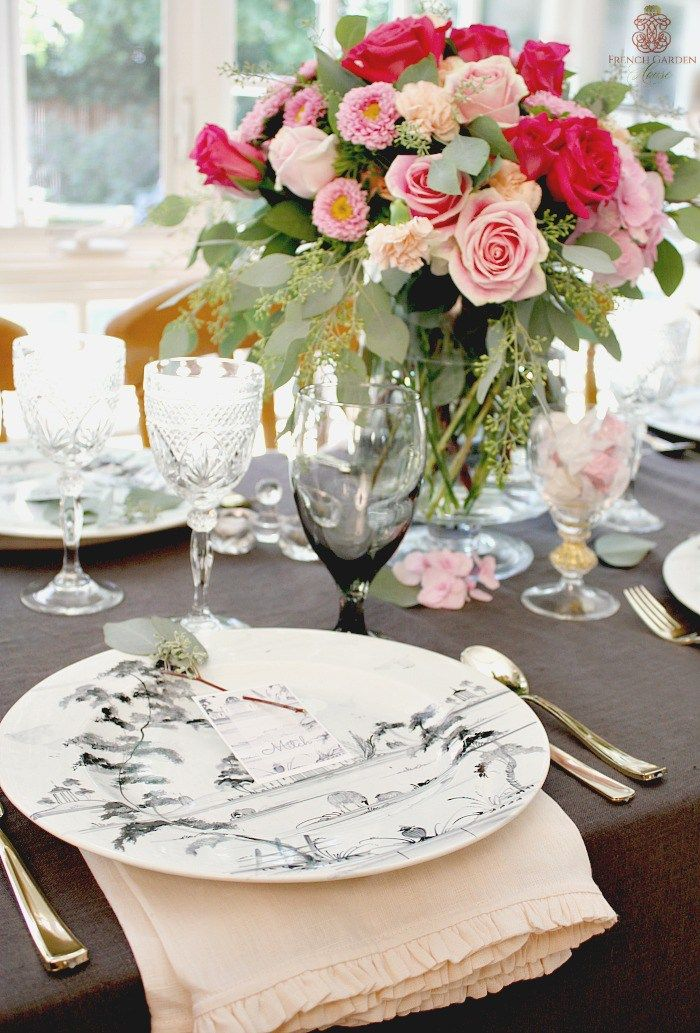 ROMANTIC FRENCH COUNTRY TABLE SETTING TIPS. & ROMANTIC FRENCH COUNTRY TABLE SETTING TIPS. | mesas | Pinterest ...