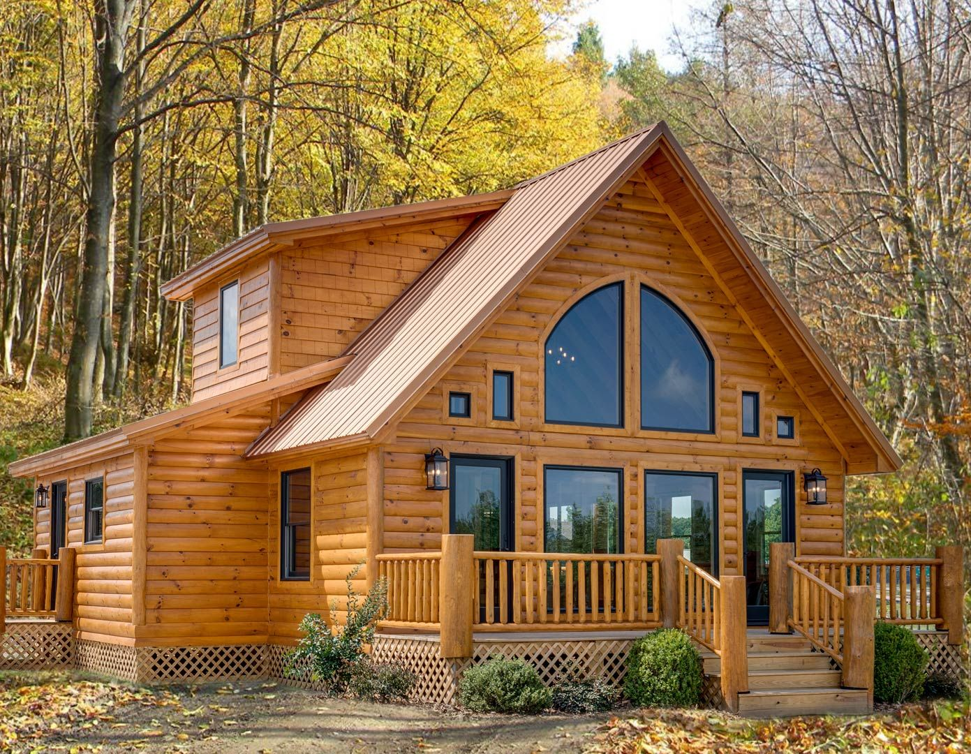 Spectacular Affordable Log Home Packages Starting At 45k To 60k Enjoy Extra Savings Free Gifts For All Log Homes Cabins In The Woods Cabins And Cottages