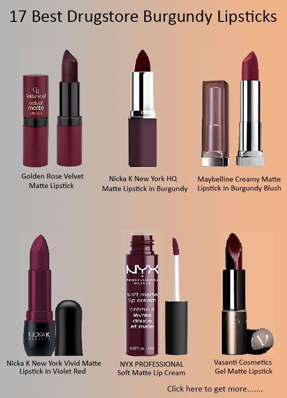 10 Best Drugstore Burgundy Lipsticks 2020 for All Skin Types