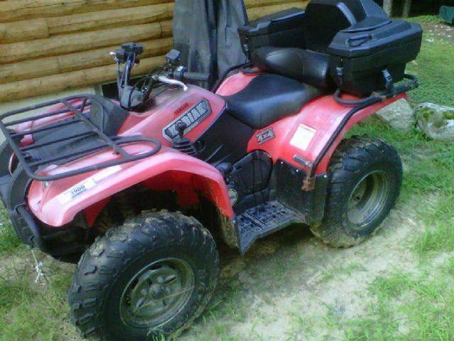 2003 yamaha kodiak 450 4x4 4 wheeler red 465 miles for sale in dunbarton nh atv. Black Bedroom Furniture Sets. Home Design Ideas