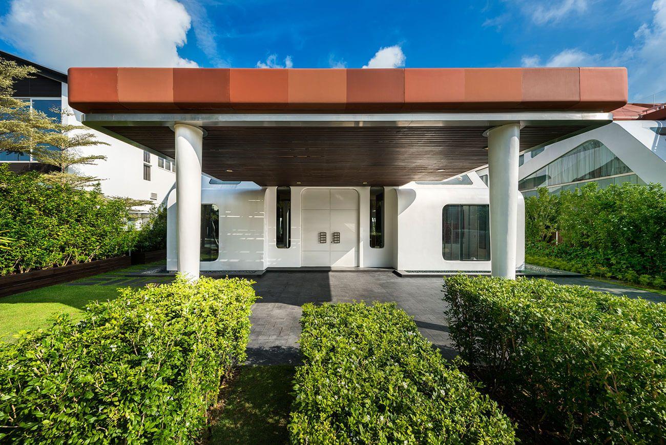 Contemporary House by Mercurio Design Lab Contemporary