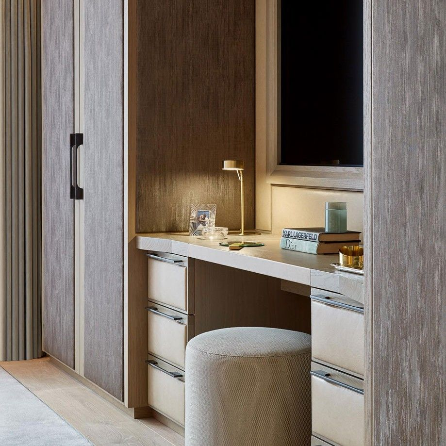 Wardrobe With Table: Concept Bespoke Interiors