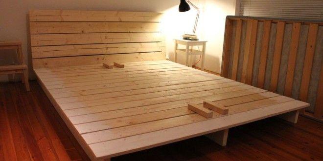 15 Diy Platform Beds That Are Easy To Build Home And Gardening Ideas Diy Bed Frame Diy Platform Bed Bedroom Diy