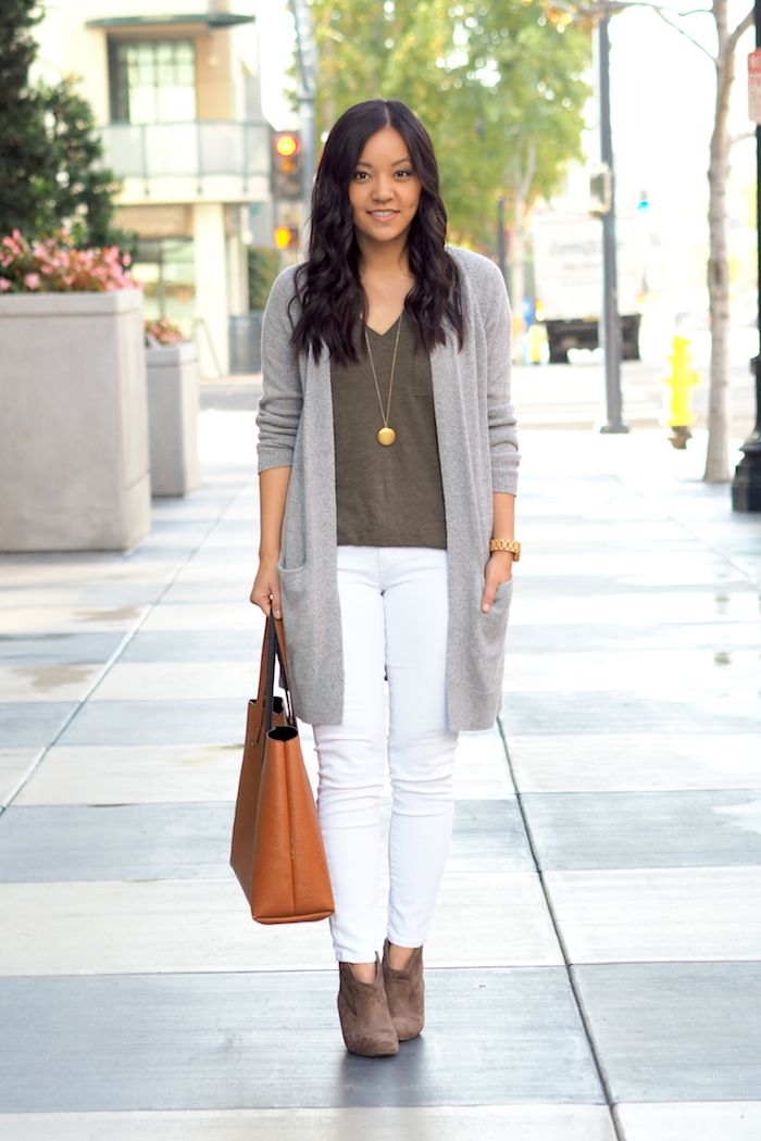 3 Outfits With an Olive Tee Putting Me Together | Women