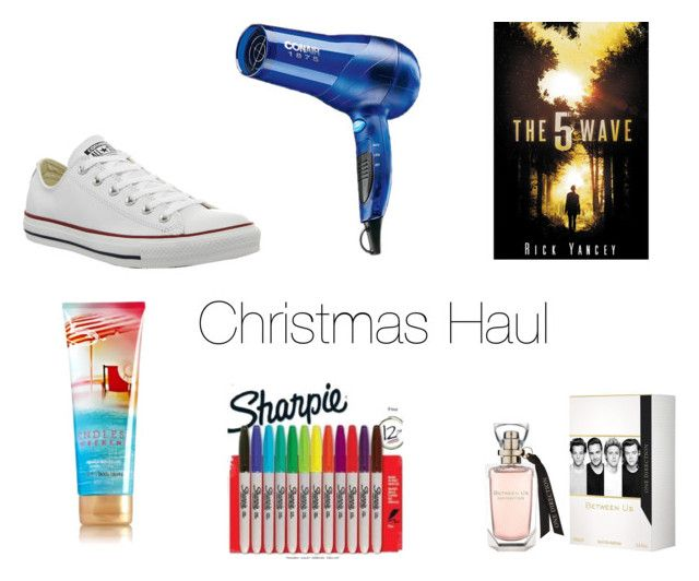 """""""Part 1 of my Christmas haul!"""" by toonceyb ❤ liked on Polyvore featuring Converse and Sharpie"""
