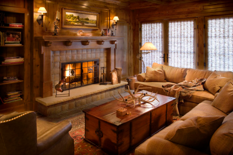 20 Beautiful Examples Of A Rustic Living Room Living Room Decor Rustic Rustic Living Room Design Lodge Style Living Room